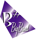 B Sharp Jazz Big Band Melbourne Logo