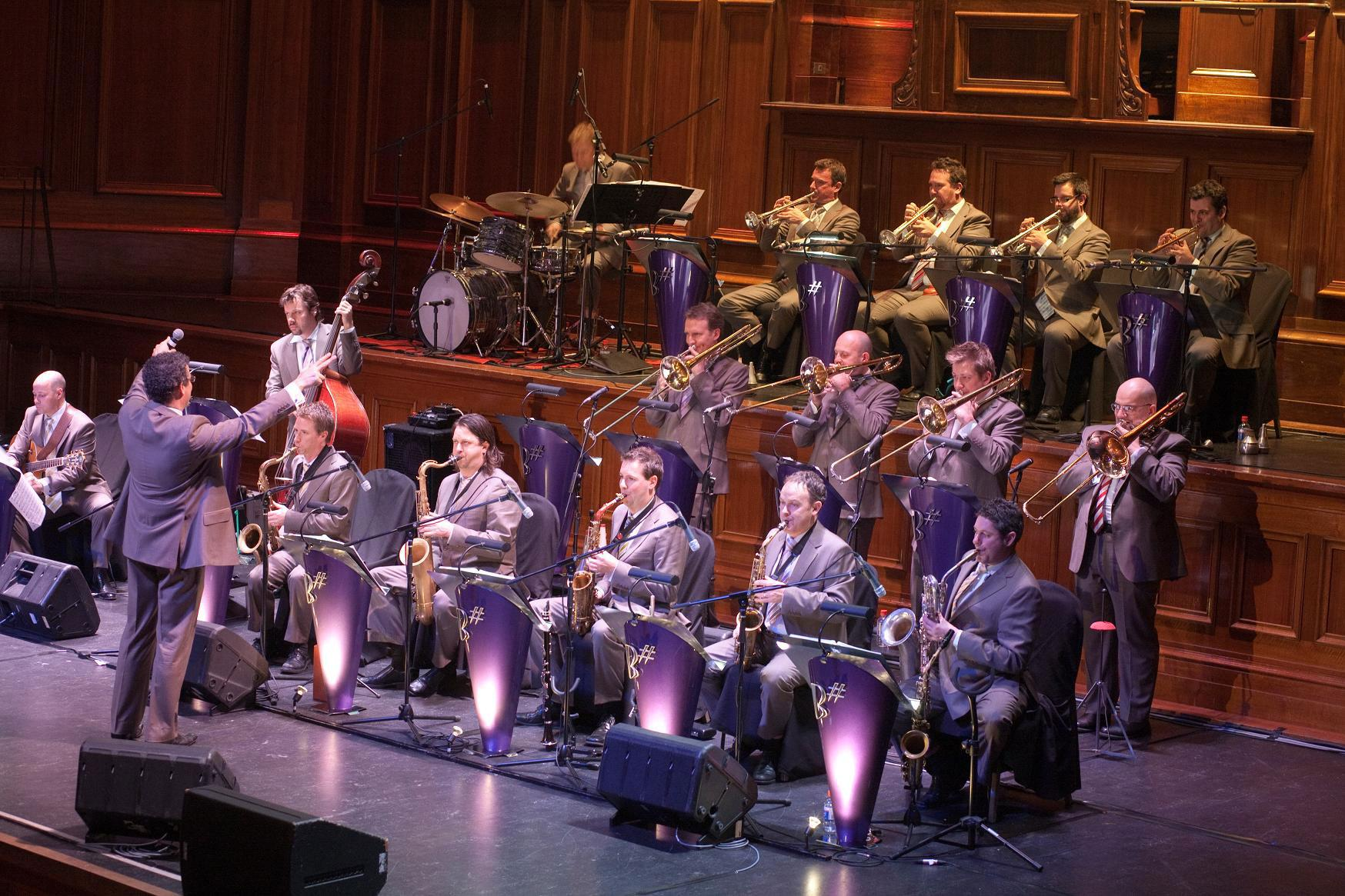 Melbourne Town Hall Big Band Jazz