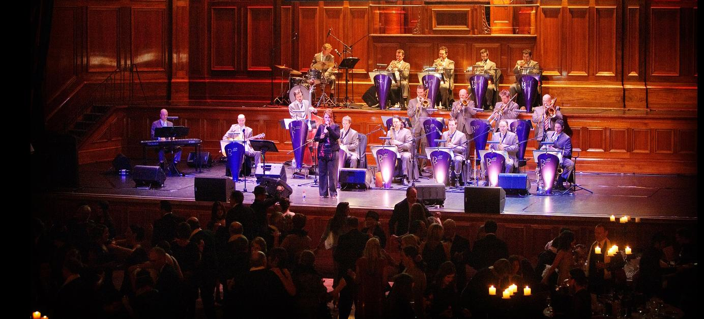 B Sharp Big Band in Melbourne Town Hall